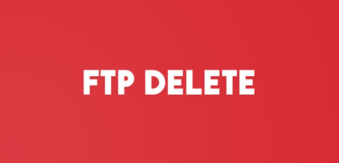 FTP DELETE