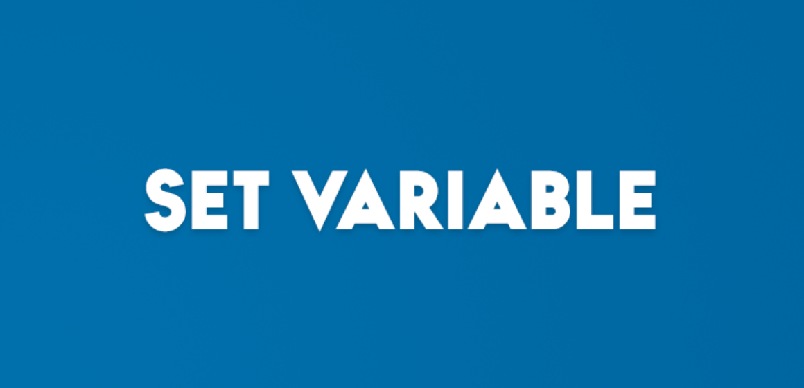 SET VARIABLE